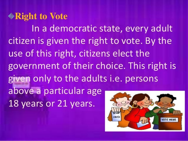 civil rights the rights of citizens These are rights by virtue of which the citizens take direct or indirect part in the administration of the state political rights are an essential complement of civil rights in the absence of political rights civil rights become meaningless political rights provide ways and means by which .