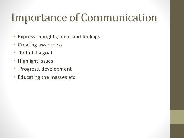importance of international communication