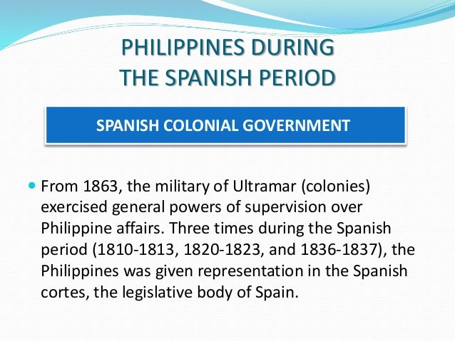 disadvantages of spanish society in the philippines I the philippines and the people spanish colonialism and feudalism philippine society and revolution is an attempt to.