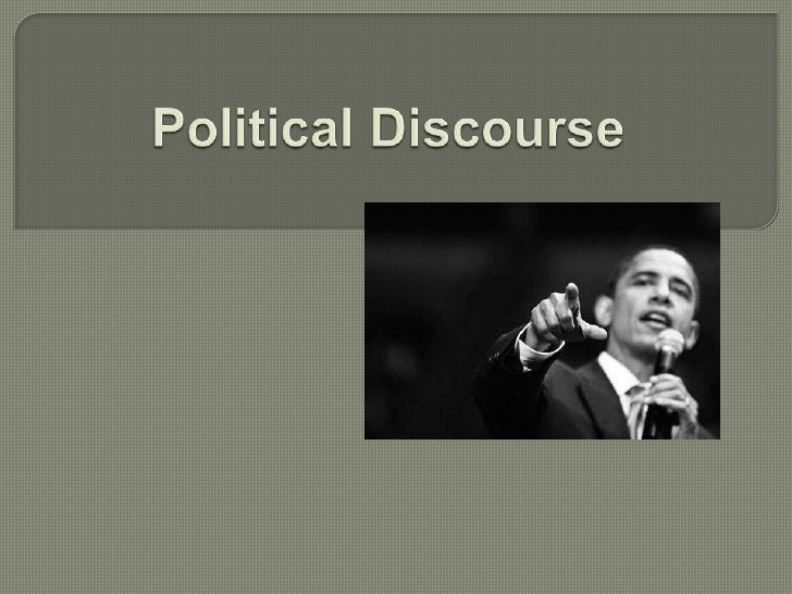 political and ideological discourse essay Political islam: discourse, ideology one of the main points of reference in the analysis of political islam as an expression of an ideological and political.