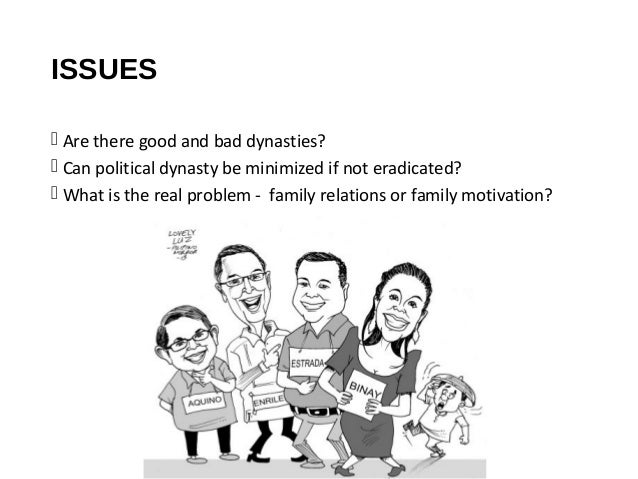 Political Dynasties Reign in the Philippines