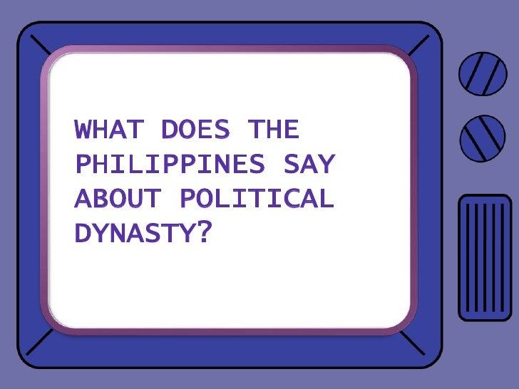 political dynasty 2 essay Academiaedu is a place to share and follow research.