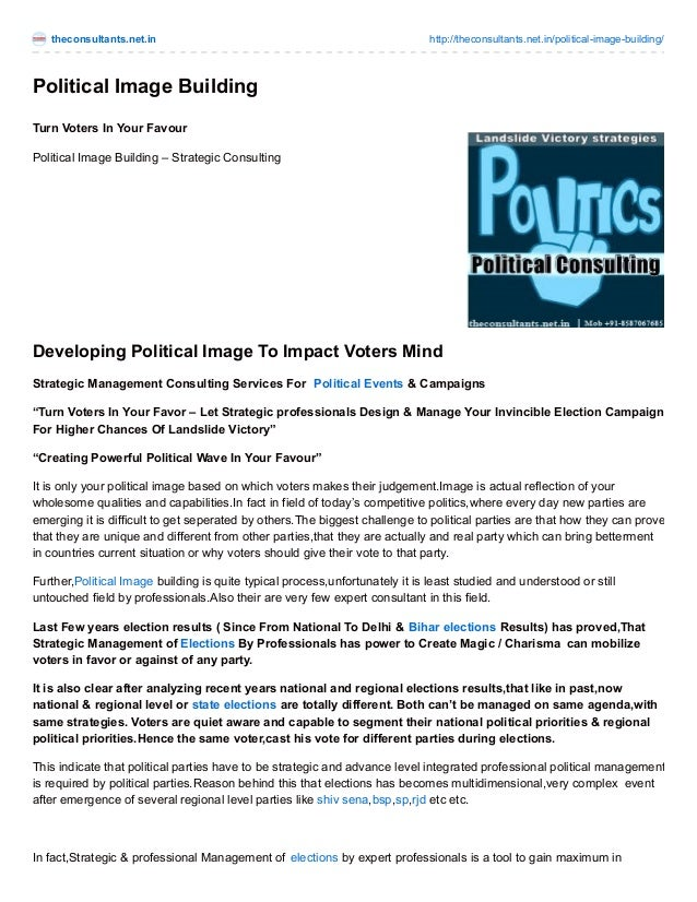 theconsultants.net.in http://theconsultants.net.in/political-image-building/ Political Image Building Turn Voters In Your ...