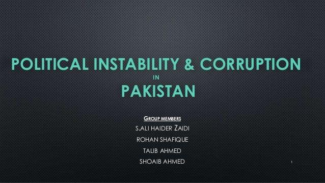 essay political instability pakistan