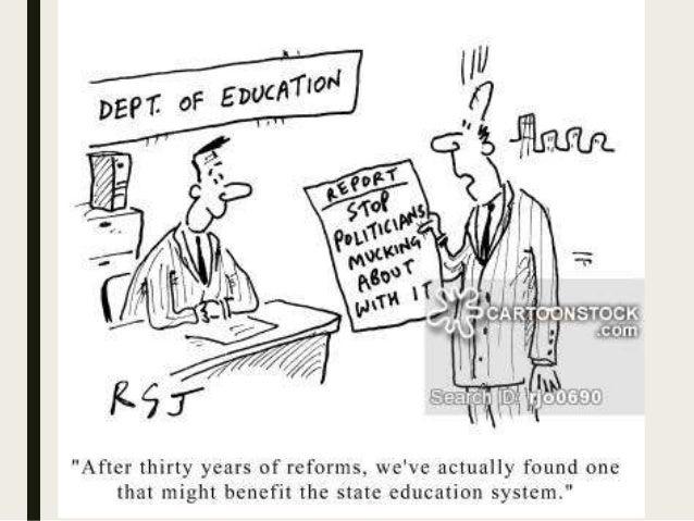 Political invovment in education