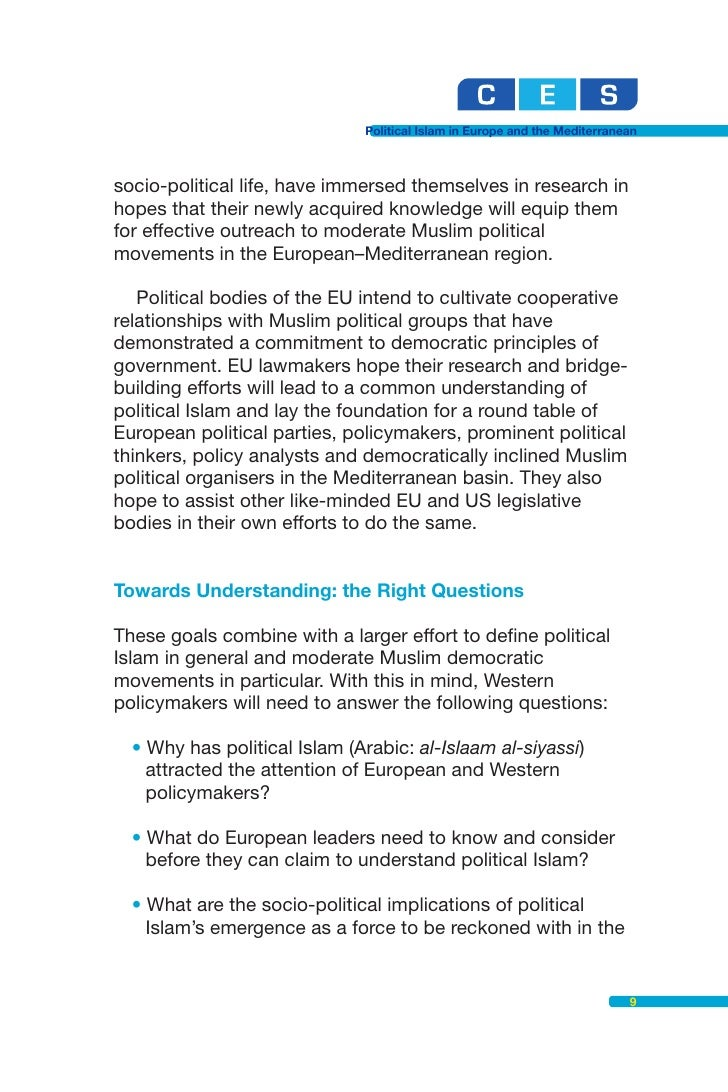 political islam The forgotten swamp: navigating political islam guilain denoeux colby  college in waterville, maine search for more papers by this author.