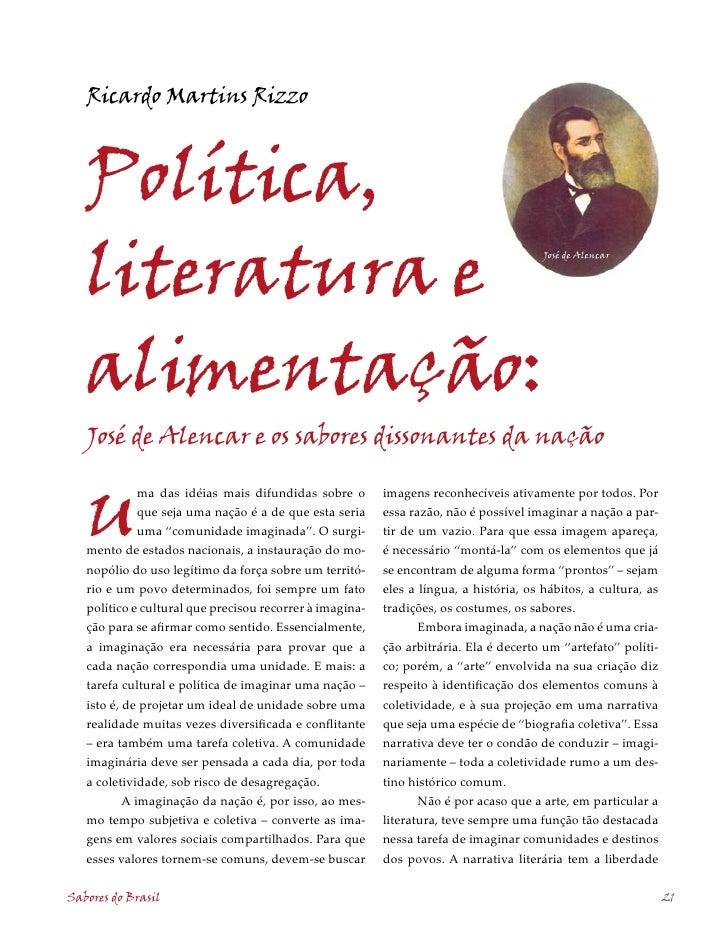 Ricardo Martins Rizzo       Política,    literatura e                                                                     ...