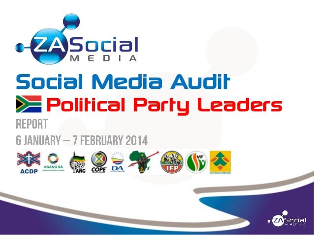Social Media Audit  Political Party Leaders  1