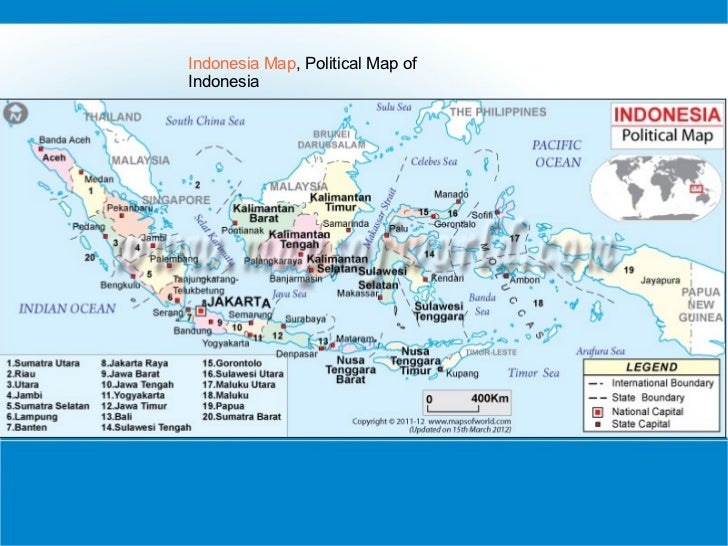 Political Maps Of Countries - Indonesia maps with countries