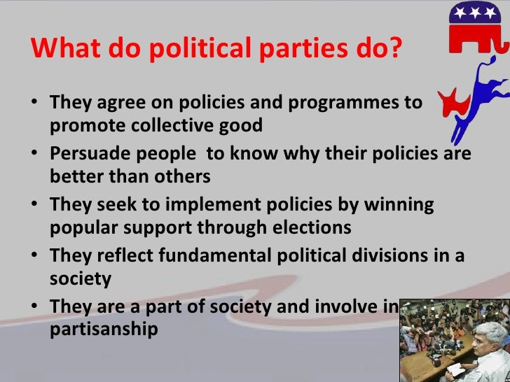 meaning and definition of political parties pdf