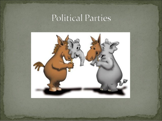 The ideasideas and beliefsbeliefs about how government should be run The basis for organizing political parties