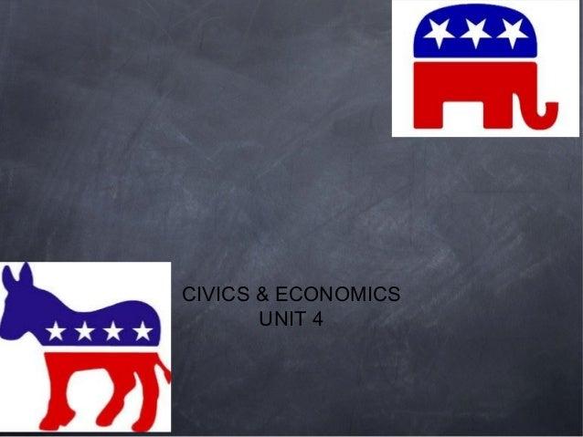CIVICS & ECONOMICS       UNIT 4