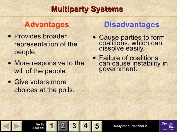the advantages and disadvantages of political party Actually, two party system comes with advantages and disadvantages this is the information that is getting the interests of a lot of people who want to know more about this party the pros of two party system.