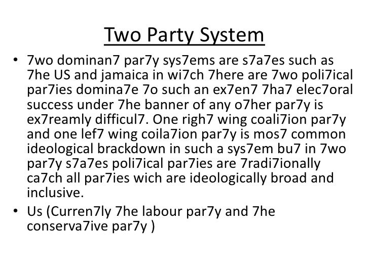 Political Systems Evaluate the Role