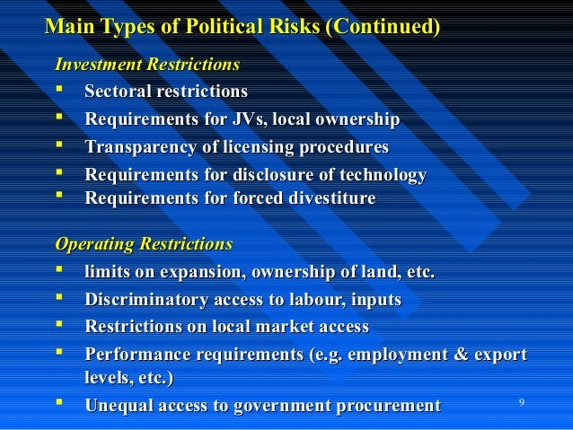 Image result for Political risk and international expansion