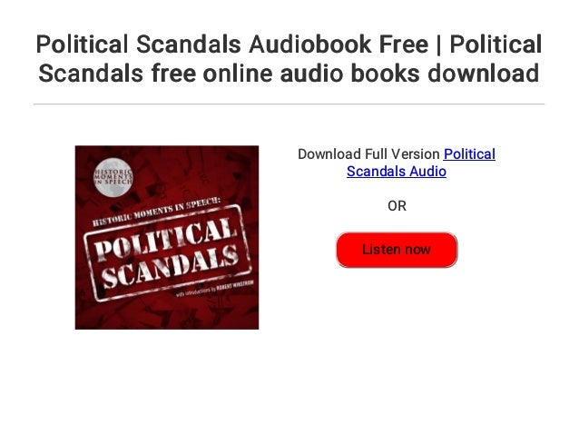 Political scandals audiobook free | political scandals free online au….