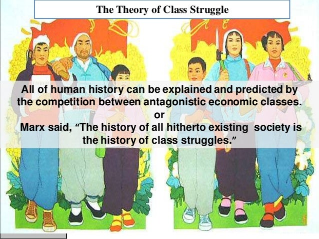 The History of Class Struggle According to Karl Marx Essay