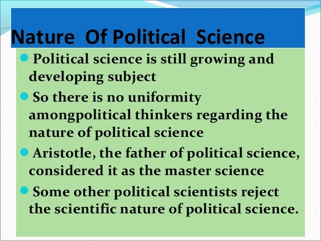 thesis of political science Provides an advanced overview of methodological issues in political science especially identification of research questions and design of research strategies in political science appropriate for a senior thesis.