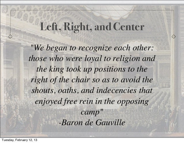 """Left, Right, and Center                   """"We began to recognize each other:                  those who were loyal to reli..."""