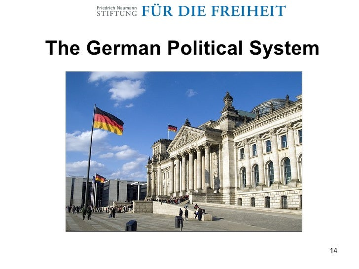 the political system in the germany Germany's constitution established a parliamentary system of government that incorporated many features of the british system however, since the basic law created a federal system, unlike the united kingdom's unitary one, many political structures were drawn from the models of the united states and other federal governments.