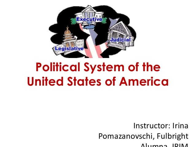 Political System of theUnited States of America                    Instructor: Irina            Pomazanovschi, Fulbright