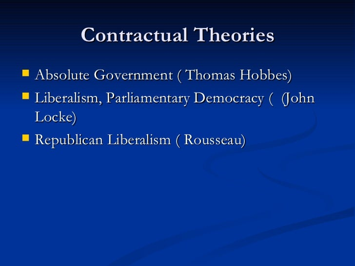 an analysis of the political theories of locke and hobbes These three stages provide the basic differences between the theories of thomas hobbes, john locke, and jean-jacques rousseau thomas hobbe's theory of the social contract thomas hobbes (1588-1679) was an english philosopher and political thinker.