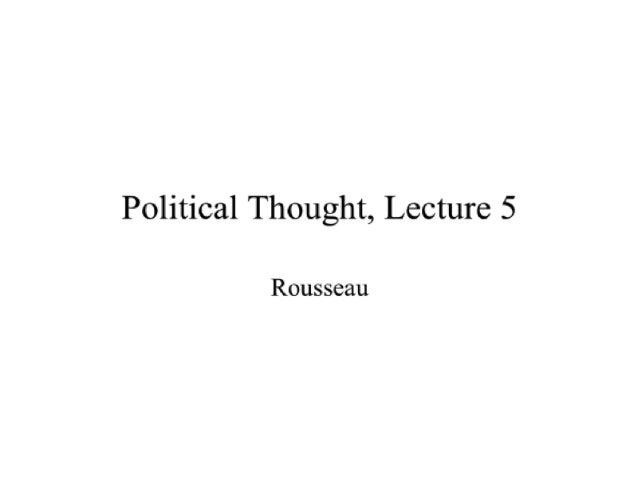 Political Thought Through the Ages, Lecture 5 with David Gordon - Mises Academy