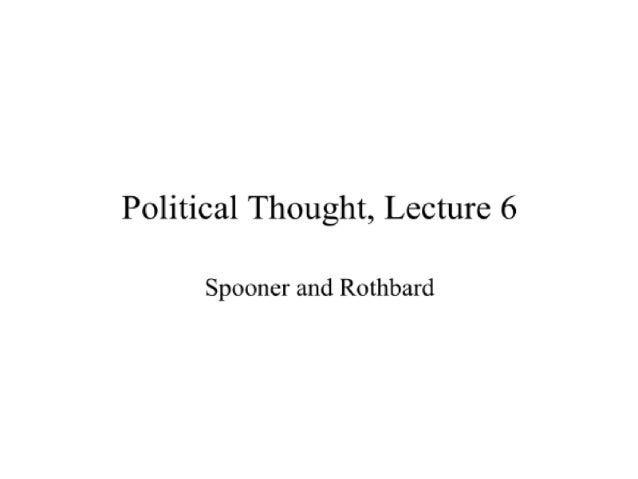 Political Thought Through the Ages, Lecture 6 with David Gordon - Mises Academy