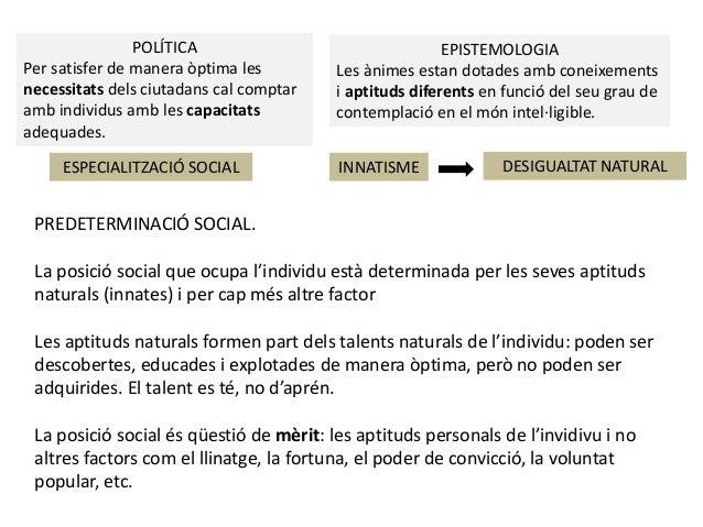 POLÍTICA Per satisfer de manera òptima les necessitats dels ciutadans cal comptar amb individus amb les capacitats adequad...