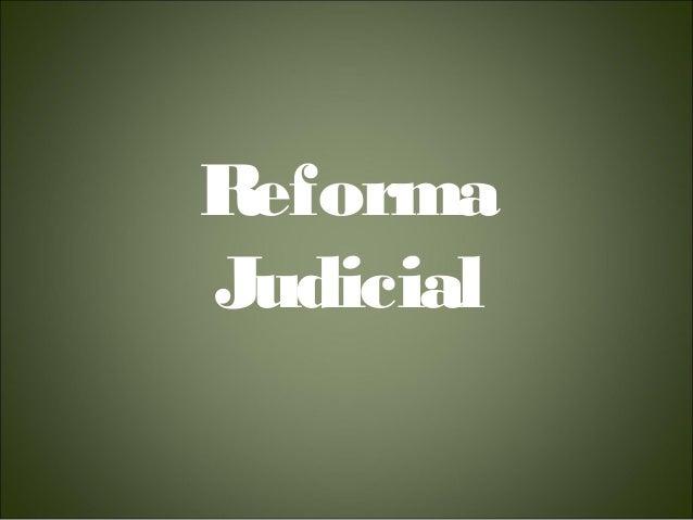 ReformaJudicial