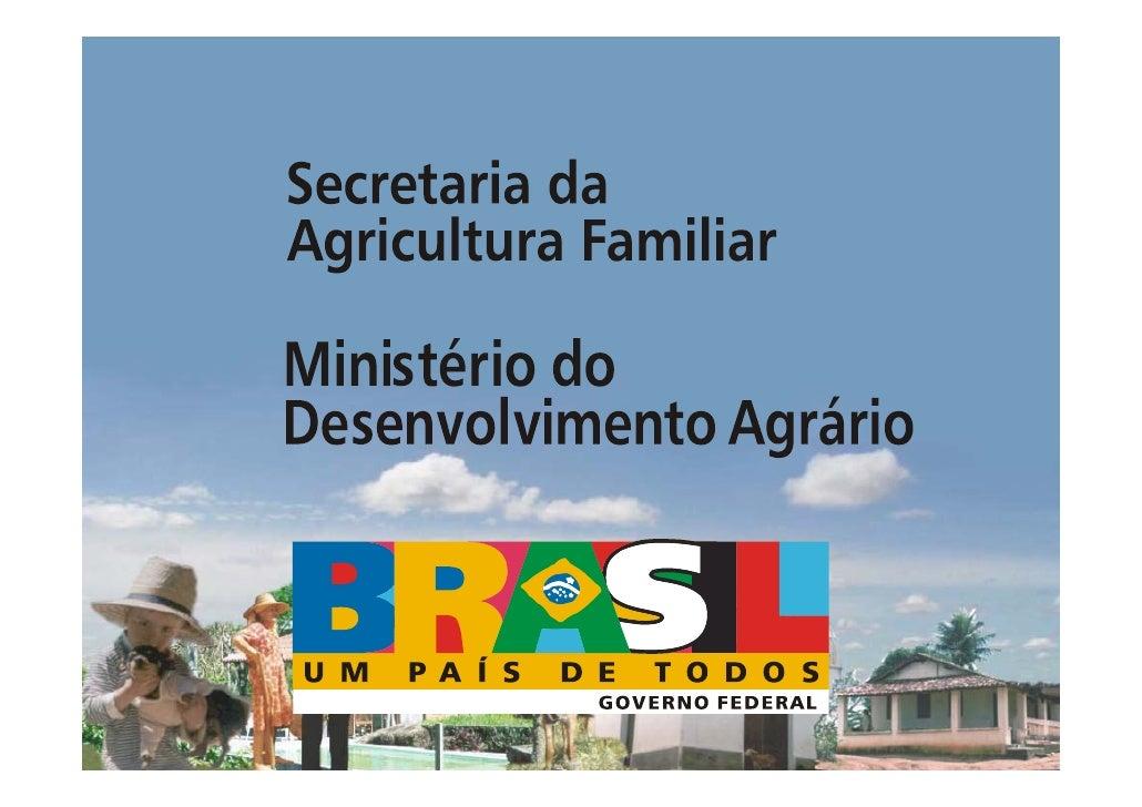 POLÍTICAS PÚBLICAS  PARA O TURISMO      RURAL NA   AGRICULTURA      FAMILIAR