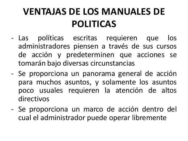 Manuales de Políticas y Procedimientos | Preguntas sobre ...