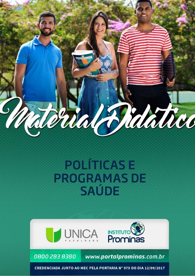 1 POLÍTICAS E PROGRAMAS DE SAÚDE