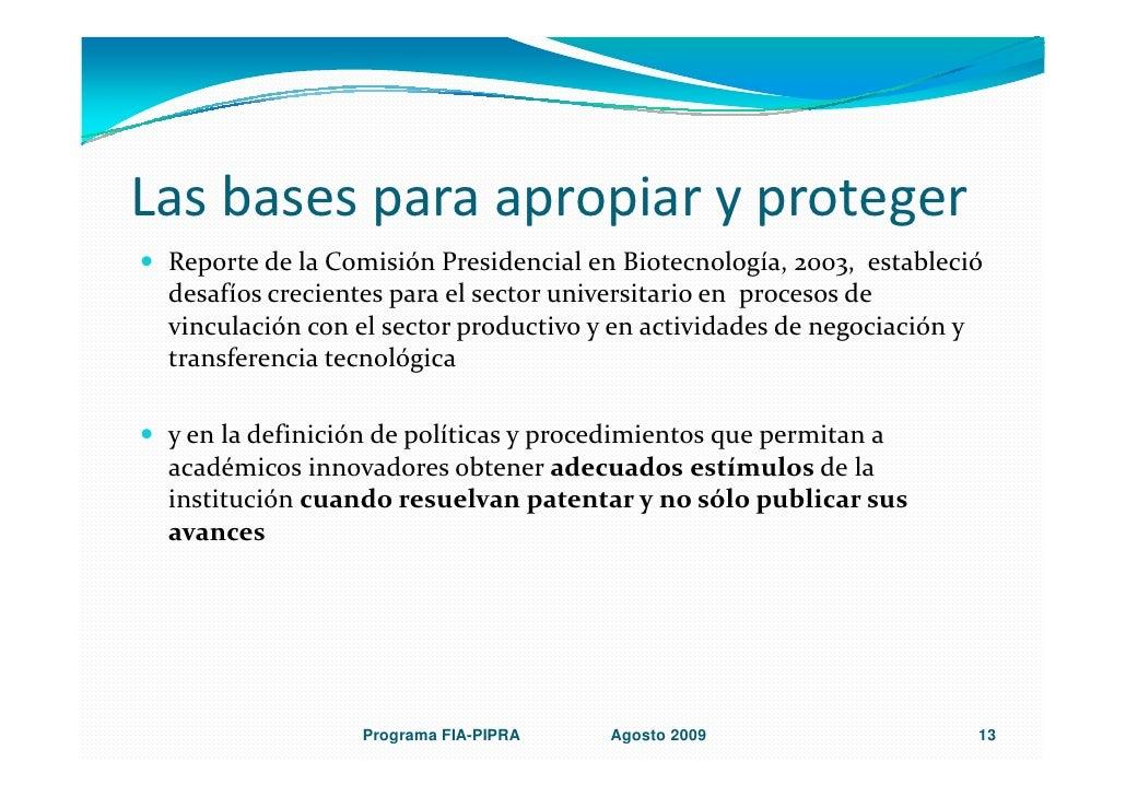 Politicas institucionales de pi en chile dr j rojas for Oficina abierta definicion