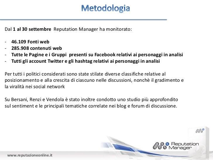 I politici italiani sul web analisi delle opinioni on line for Gruppi politici italiani