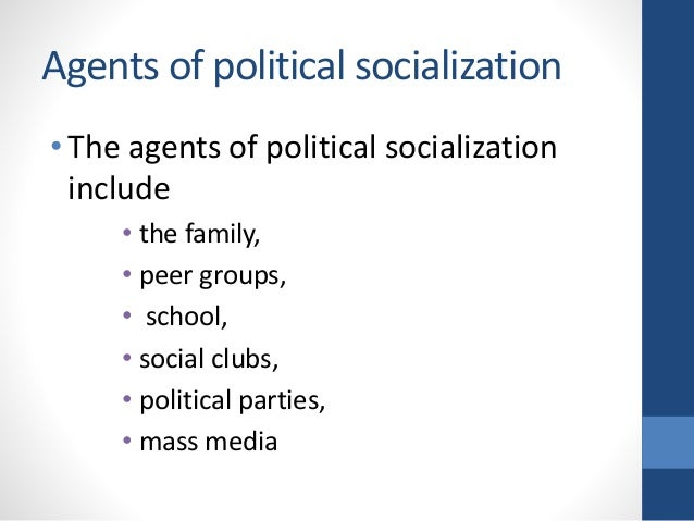 role of education in political socialization