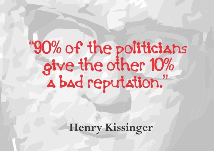 Politics - The Inconvenient Truth