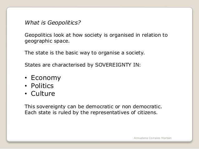 The political organisation of the world Slide 2