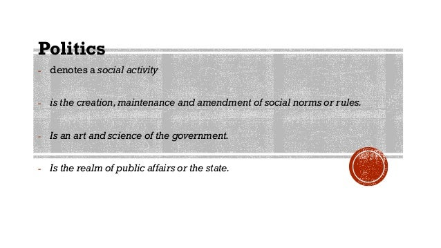 Politics and Governance in the Philippines Slide 2