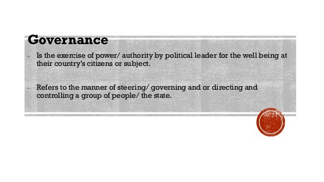 Politics and Governance in the Philippines Slide 3