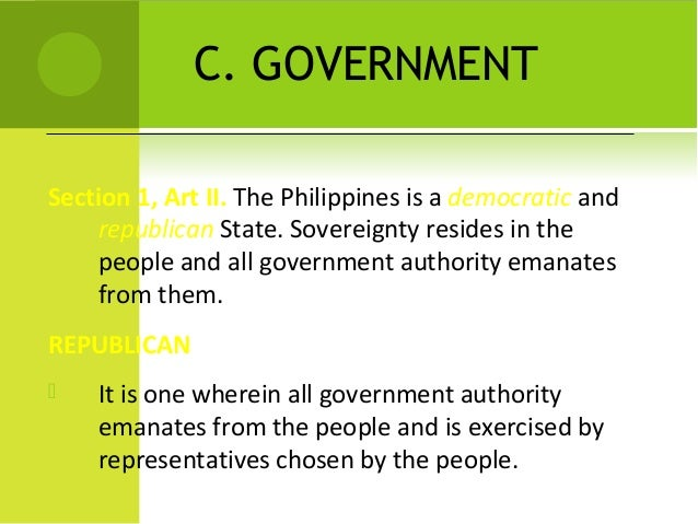 constitution of the philippiness essay Read this essay on philippine constitution come browse our large digital warehouse of free sample essays get the knowledge you need in order to pass your classes and more.