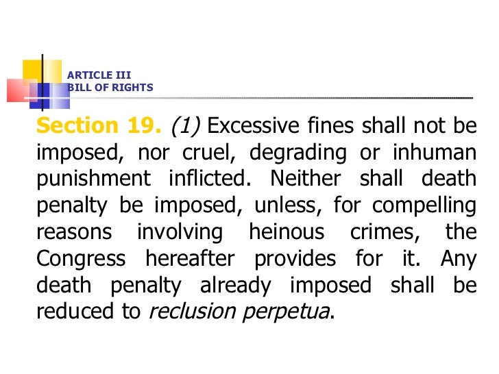 what is section 19