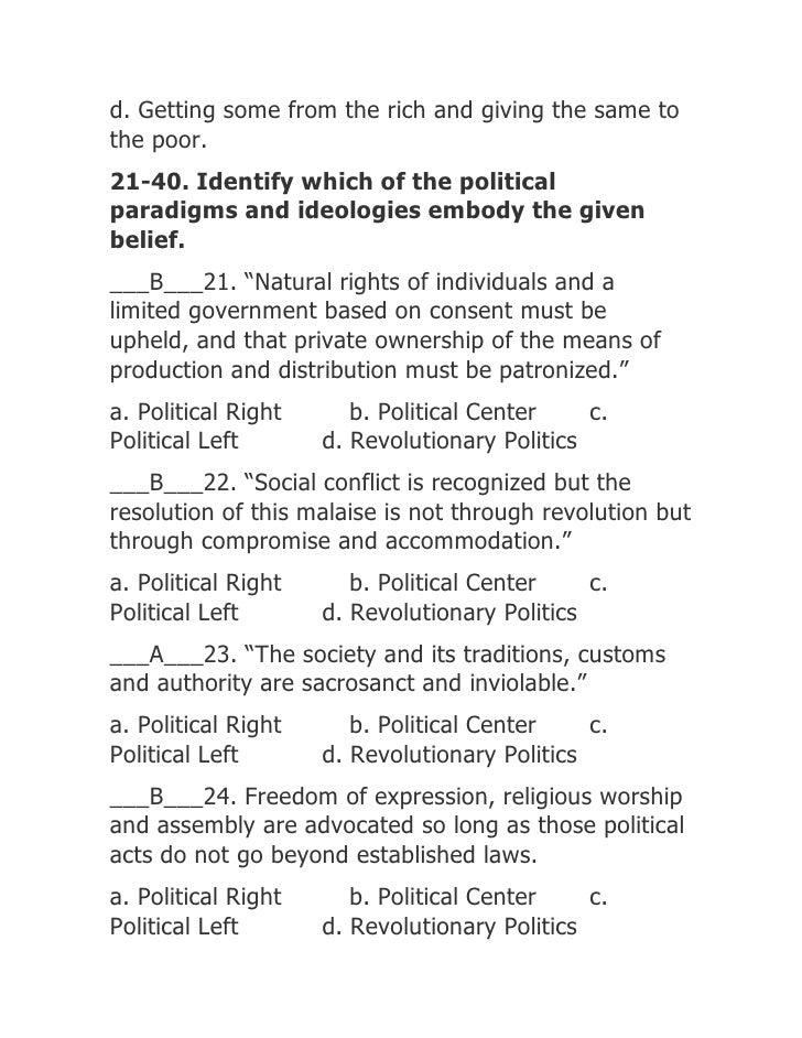 Politicsgovernance