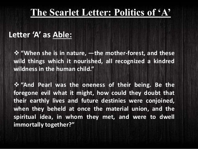 the scarlet letter pre reading activity analysis