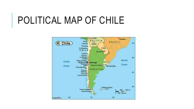 Politics Of Chile - Political map of chile