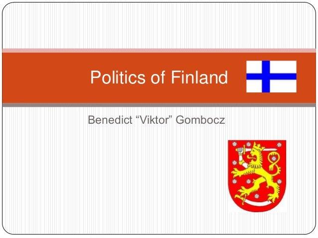 "Politics of FinlandBenedict ""Viktor"" Gombocz"