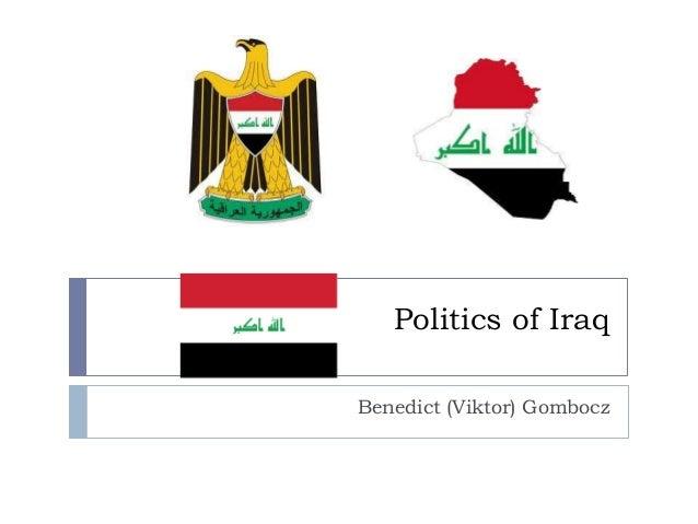 Politics of Iraq Benedict (Viktor) Gombocz