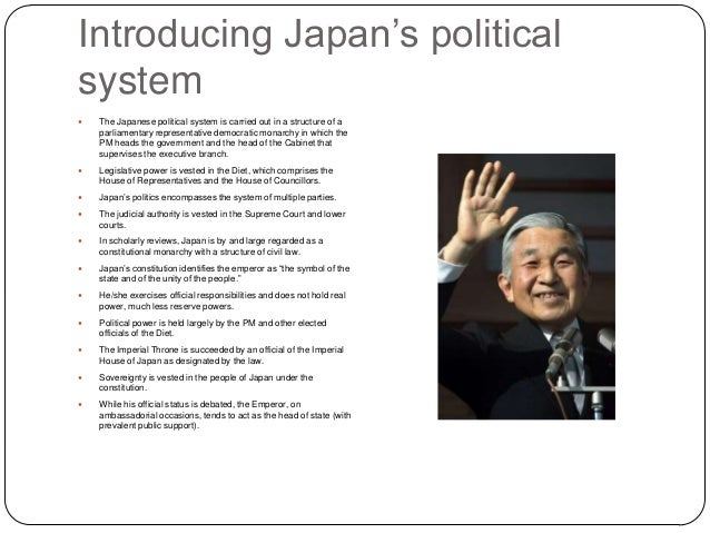 japanese politics is japan democratic Election central  teacher's note:  japan's new democratic constitution went into  the american occupation of japan ended the japanese were again an.
