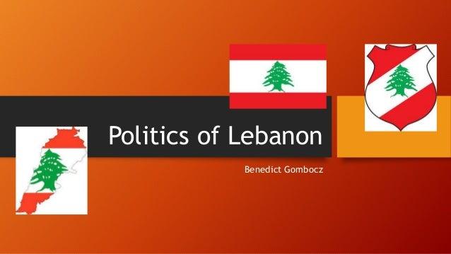 Politics of Lebanon Benedict Gombocz