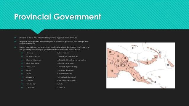politics of papua new guinea